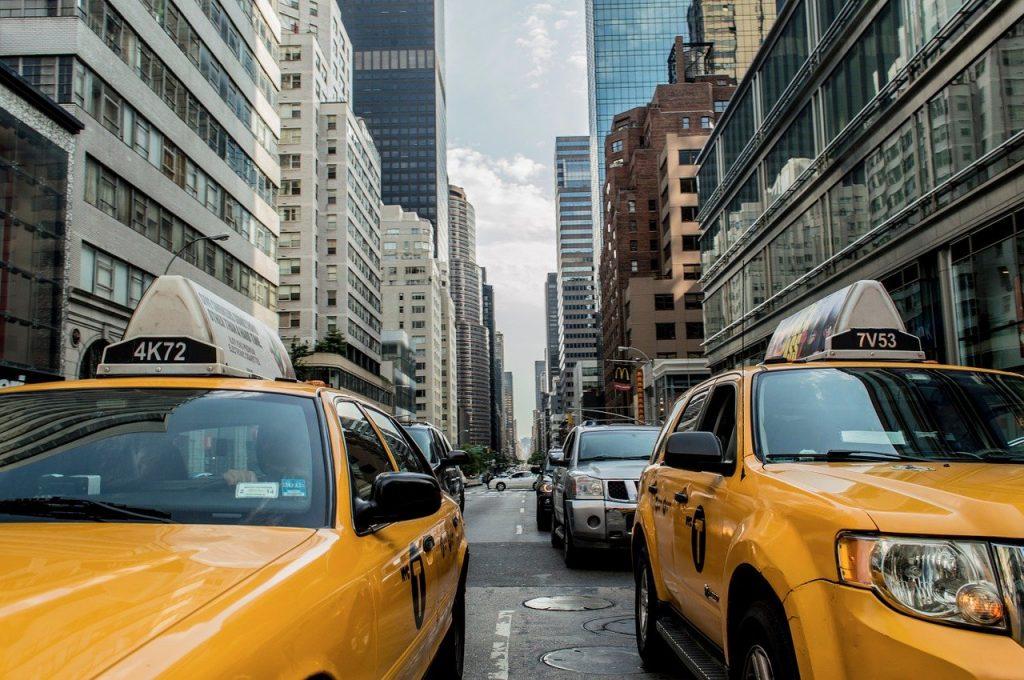 americké taxi